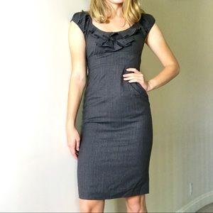 Rebecca Taylor Desk To Date Vertical Striped Dress
